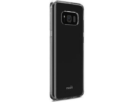Capa MOSHI Vitros S8 Plus Crystal Clear — Compatibilidade: Galaxy S8 Plus