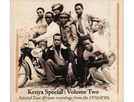 CD Kenya Special: Volume Two (Selected East African Recordings From The 1970s & '80s)