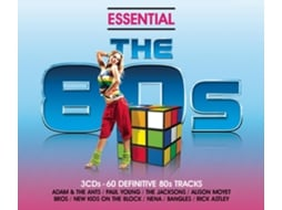 CD Vários Essential 80s - Classic Eighties Pop and Rock Hits — Pop-Rock