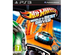 Jogo PS3 Hot Wheels:Worlds Best Driver — Desporto | Idade Mínima Recomendada: 7