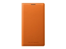 Capa Book SAMSUNG Galaxy Note 3 Laranja — Capa / Galaxy Note 3