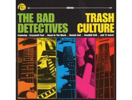 CD The Bad Detectives - Trash Culture