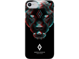 Capa MARCELO BURLON 3D Rufo iPhone 6, 6s, 7, 8 — Compatibilidade: iPhone 6, 6s, 7, 8