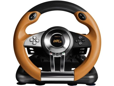 Volante GAMING SPEEDLINK DRIFT O.Z. PC — Volante Gaming