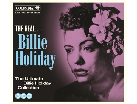 CD Billie Holiday - The Real Billie Holiday — Jazz