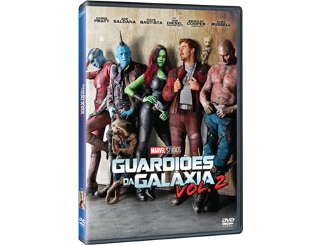 DVD Guardiões Da Galáxia Vol. 2 — Do realizador James Gunn