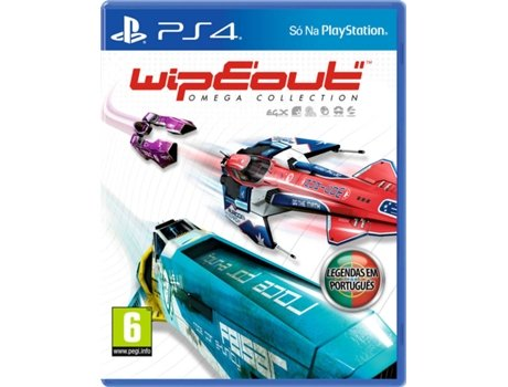 Jogo PS4 Wipeout Omega Collection — Corridas
