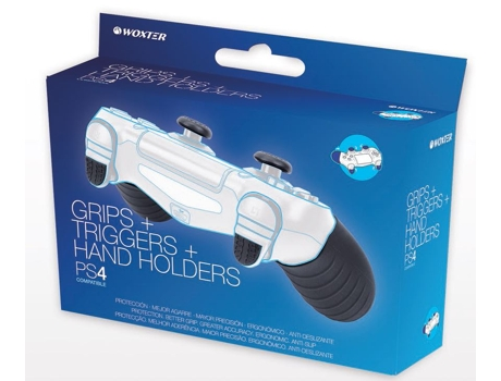 Grips + Triggers +  Hand Holders WOXTER — PS4