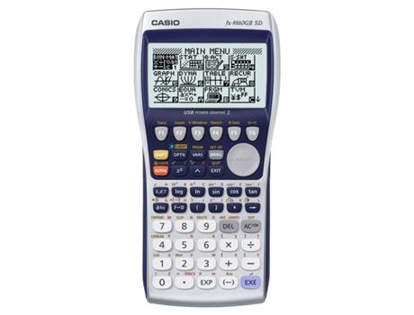 10c5d74a70e Calculadora Gráfica CASIO FX-9860GII