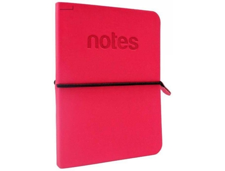 Bloco de Apontamentos MAKE NOTES 10*14 cm Rosa — A6 | 96 folhas