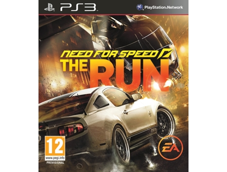 Jogo PS3 Need For Speed The Run — Ação/Aventura
