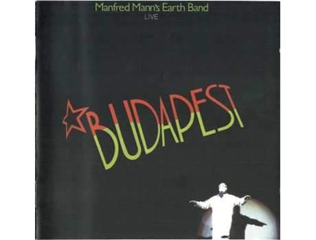 CD Manfred Mann's Earth Band - Budapest Live