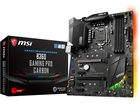 Motherboard MSI b360 Gaming Pro Carbon — LGA1151 | B360