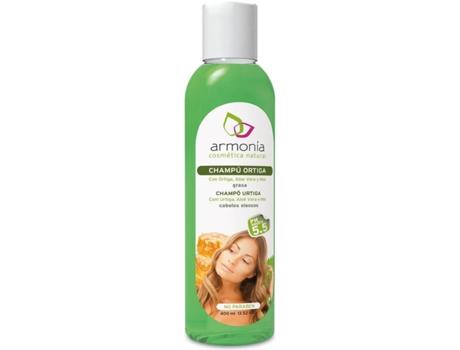 Shampoo de urtiga harmonia com Aloe Vera e chá arvore 300ml