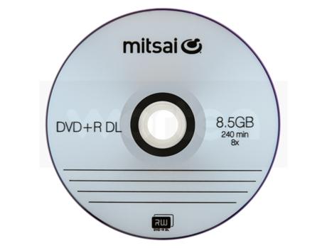 Dvd R Dl Mitsai 8 5gb 8x Worten Pt