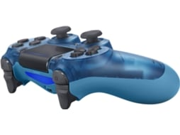 Comando PS4 Dualshock Crystal Blue — PS4