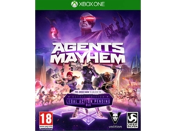 Jogo Xbox One Agents Of Mayhem — Shooter