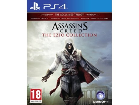 Jogo PS4 Assassin's Creed - The Ezio Collection — Ação/Aventura | Idade mínima recomendada: 18
