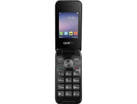 ALCATEL 20.51D Metal Silver