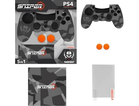Kit INDECA para PS4 Essential Sniper 2018 — PS4