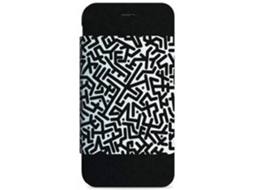 Capa I-PAINT Folio Maze iPhone 6, 6s Preto — Compatibilidade: iPhone 6, 6s, 7 ,8