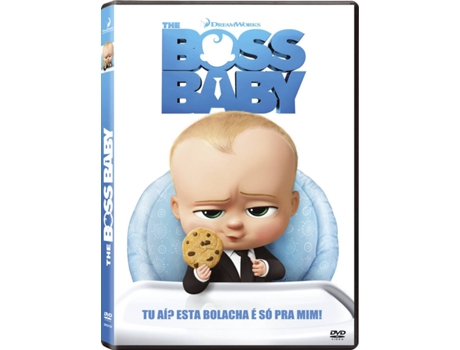 DVD The Boss Baby — De: Tom McGrath