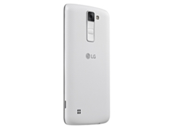 Smartphone LG K8 4G Branco — Android 6.0 / 5'' / 4G / Quad Core 1.3 GHz