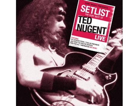 CD Ted Nugent - Setlist: The Very Best of Ted Nugent Live — Pop-Rock