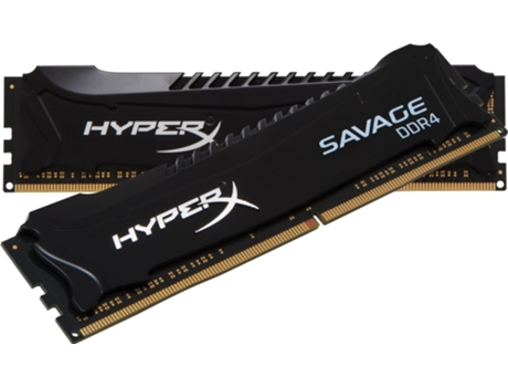Memória RAM DDR4 2x8GB 2133 MHz CL13 HyperX Savage Black — 2 x 8 GB / 2133 MHz / DDR4