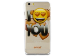Capa iPhone 6/6S Plus Emoji I Love You — Capa / iPhone 6/6S Plus