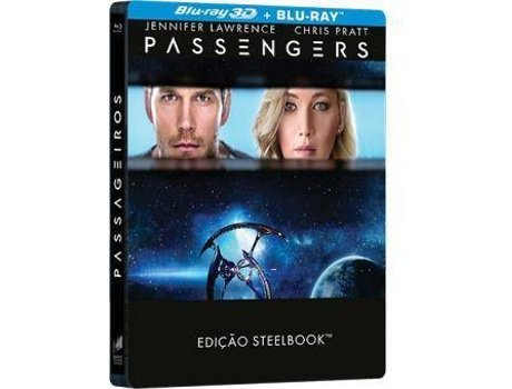 Blu-Ray 3D + Blu-Ray Passageiros — Do realizador Morten Tyldum