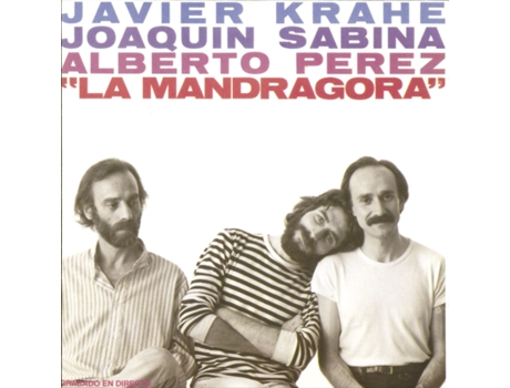 CD  j.Krahe, j.Sanina, a. Perez - La Mandragora — Pop-Rock