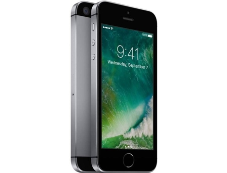 Smartphone APPLE iPhone SE 32GB Cinzento sideral — iOS 10 | 4.0'' | A9