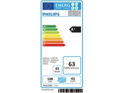 TV LED 43'' PHILIPS 43PUS6262/12 — Ultra HD
