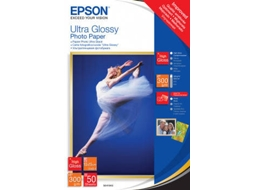 Papel EPSON Ultra Glossy Photo 10X15-50F — 10X15 | 50 folhas