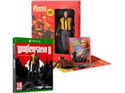 Jogo Xbox One Wolfenstein II - The New Colossus (Collector's Edition) — Ação/Aventura /  Idade mínima recomendada: 18