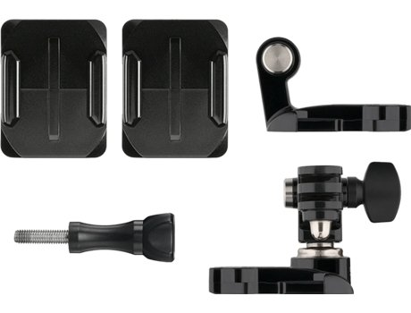 Suporte Frontal e Lateral p/ Capacete GOPRO — Compatibilidade: GoPro