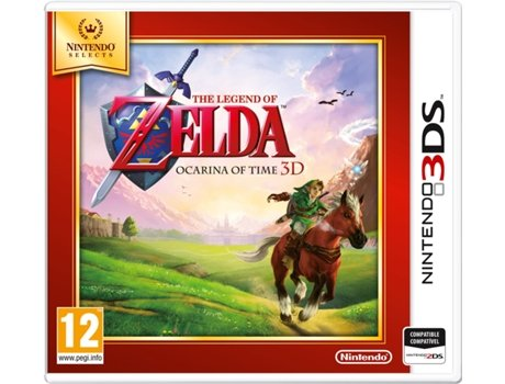 Jogo Nintendo 3DS Selects: The Legende of Zelda - Ocarina of Time 3D