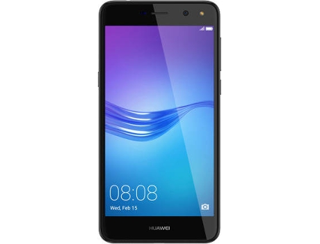 Smartphone NOS HUAWEI Y6 2017 Cinza — Android 6.0 / 5'' / Quad-Core 1.4GHz / 2GB RAM / Dual SIM
