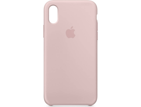 Capa APPLE iPhone X Silicone Case Pink Sand — Compatibilidade: iPhone X