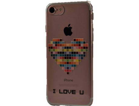 Capa KUNFT I Love Y iPhone 7, 8 — Compatibilidade: iPhone 7, 8