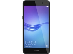 "Smartphone HUAWEI Y6 2017 16GB Cinzento — Android 6.0 Marshmallow / 5"" / MT6737T Quad-Core 4xA53 1.4GHz)"