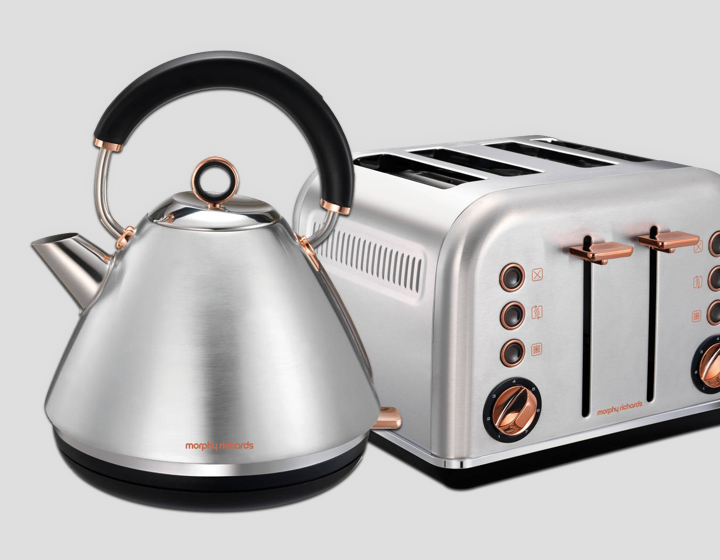 MORPHY RICHARDS Inox Rose Gold