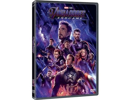 DVD Avengers: Endgame (De: Anthony e Joe Russo - 2019)