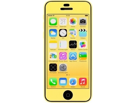 Película iPhone 5c ARTWIZZ Color Amarelo — Compatibilidade: Apple iPhone 5c