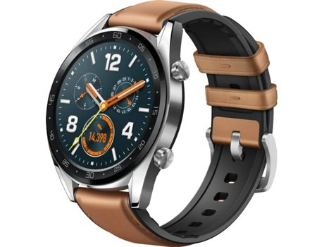 Smartwatch Huawei Watch Gt Classic 46mm Pele Worten Pt