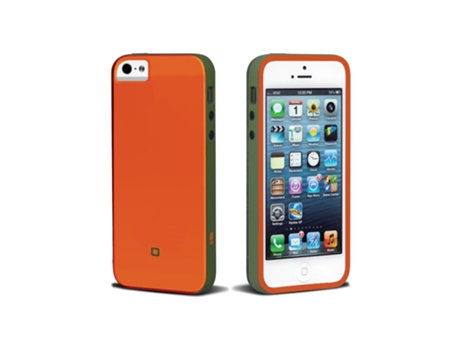 Capa SBS Sweet Flurry iPhone 5, 5s, SE Laranja — Compatibilidade: iPhone 5, 5s, SE