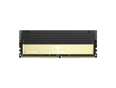 Memória RAM TEAM Group T-Force Xtreem 2x4GB DDR4 3600Mhz CL17 - Golden — 2X4GB / DDR4 / 3600Mhz