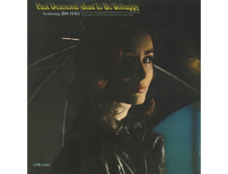 CD Paul Desmond - Glad To Be Unhappy — Jazz