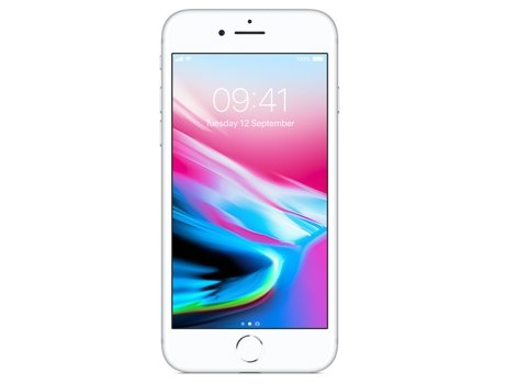 Smartphone APPLE iPhone 8 64GB Prateado — iOS 11 / 4.7'' / A11